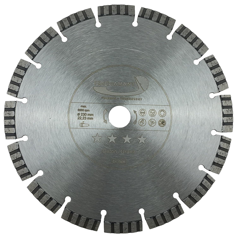 PRODIAMANT Qualité Première Disque à tronçonner diamant Béton Laser 125 x 22,2 mm, PDX821.711 125mm