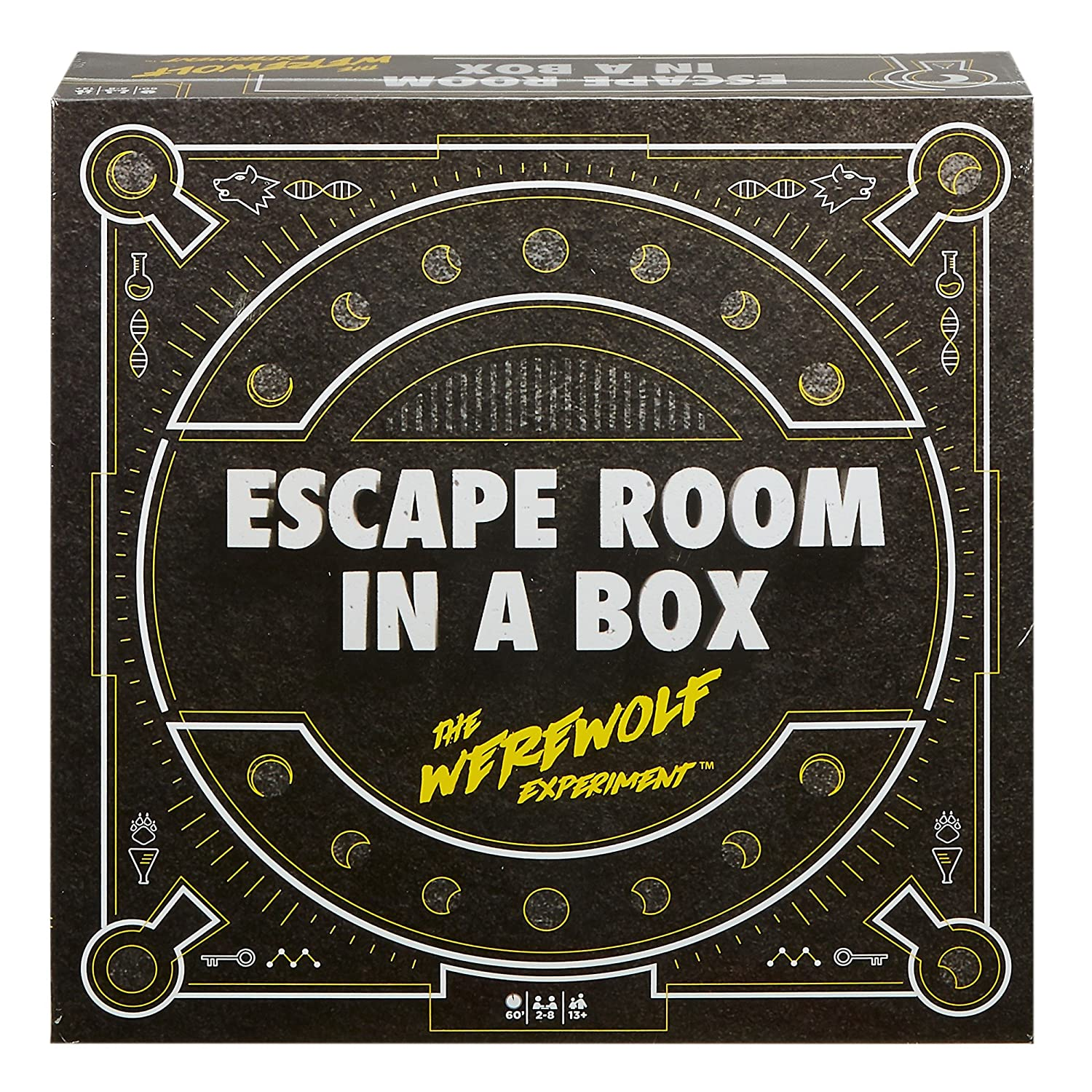 Mattel games escape room in a box the werewolf experiment mattel amazon co uk toys games