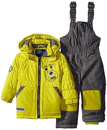 a6e29d131 Amazon.com  Rugged Bear Baby Boys  Robot Snowsuit