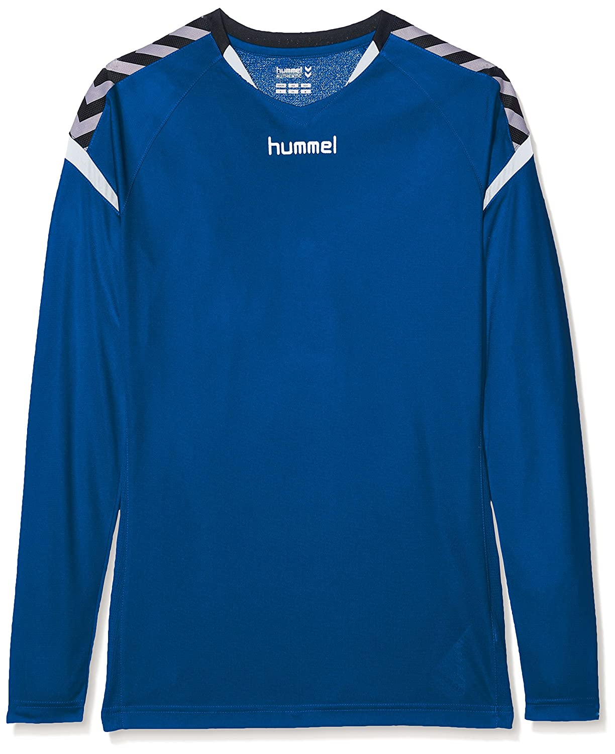 7cd76f5ae Hummel Girls  Auth Charge Ls Poly Jersey T-Shirt  Amazon.co.uk  Sports    Outdoors