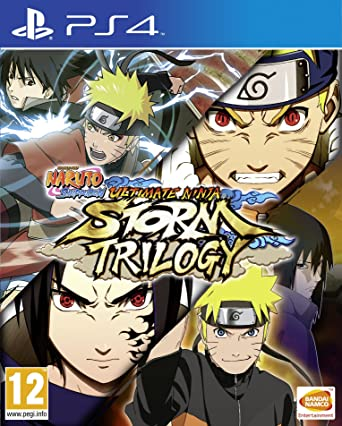 Amazon.com: Naruto Ultimate Ninja Storm Trilogy (PS4) UK ...