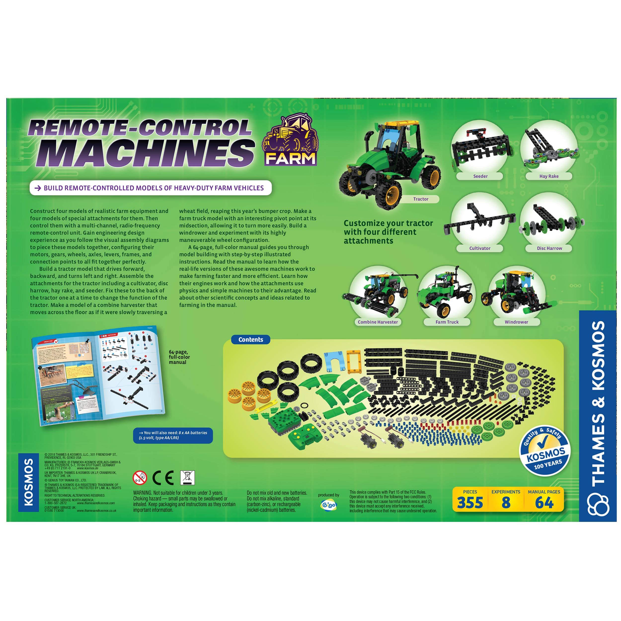 Thames & Kosmos 620381 Remote Control Machines: Farm Science Experiment Kit by Thames & Kosmos (Image #2)