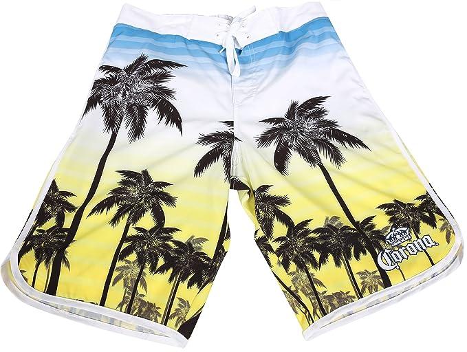 fc170dd704 Corona Boardshorts Summer Beachwear Surf Swim Hawaiian Palms Cruise ...