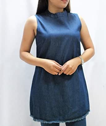 Laura D Round Neck Blouse For Women