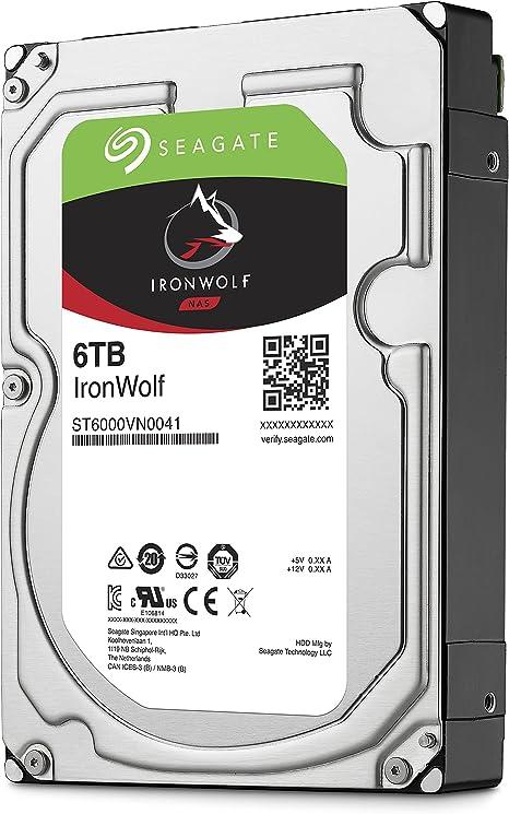Seagate St6000vn0041 Interne Festplatte Ironwolf 6 Tb Computers Accessories