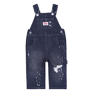 001613ab Levi's Baby Boys' Denim Overalls, On The On The Road, ...