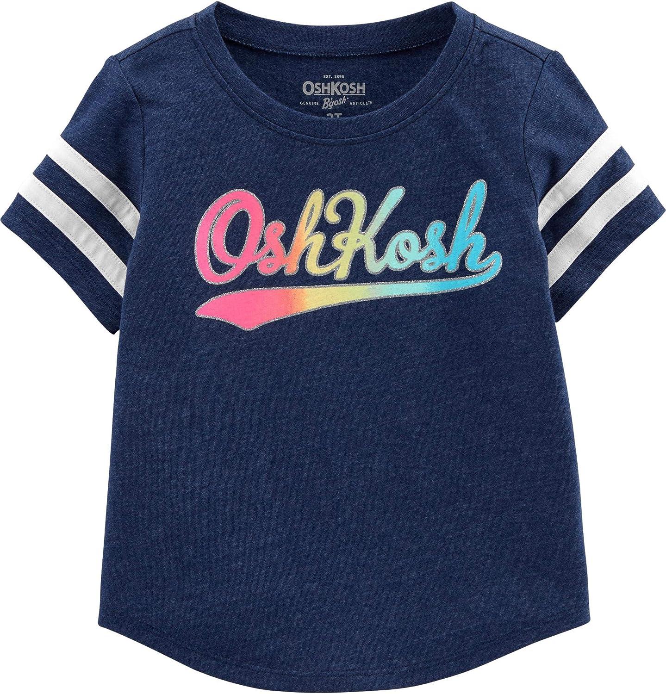 OshKosh BGosh Baby Girls Toddler Logo T-Shirt