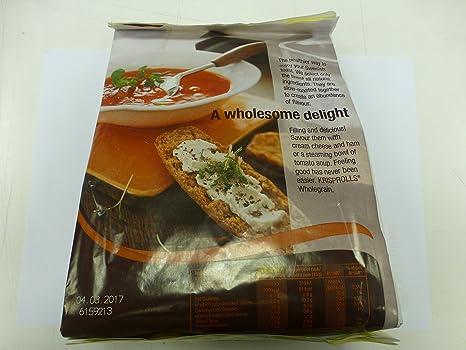 Krisprolls - Panecillos Suecos Integrales - 225 gr: Amazon.es: Alimentación y bebidas