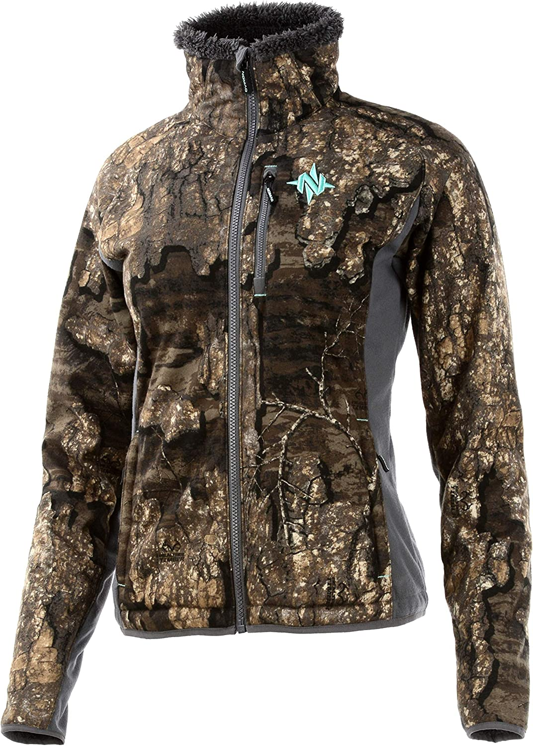 Nomad Women's Harvester Jacket, Mossy Oak Break Up Country, 2X-Large