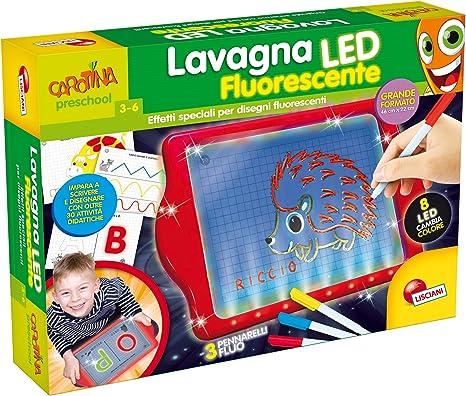 Lisciani Giochi 64137 Carotina Lavagnona Fluorescente Led Multicolore 64137 Amazon It Giochi E Giocattoli