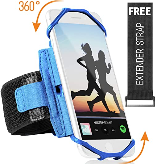 Sports Running Armband for iPhone XR, XS Max, 8, 8 Plus, 7, 6, Samsung  Galaxy A8, S9, S8, S6 Edge, Note, LG