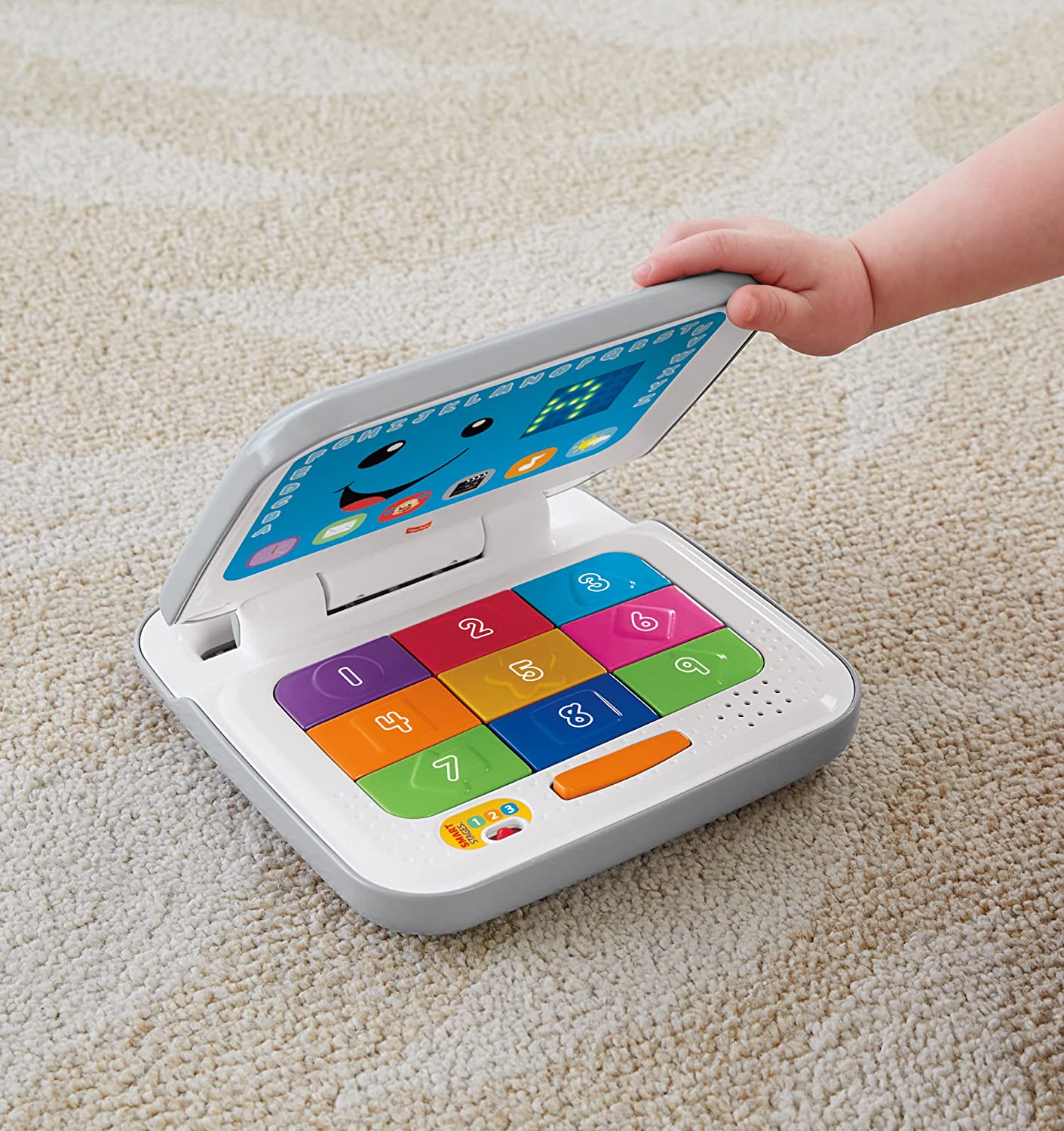 Fisher Price Laugh & Learn Smart Stages Laptop Grey White Amazon