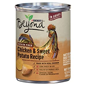 Purina Beyond Grain Free, Natural, Adult Canned Wet Dog Food