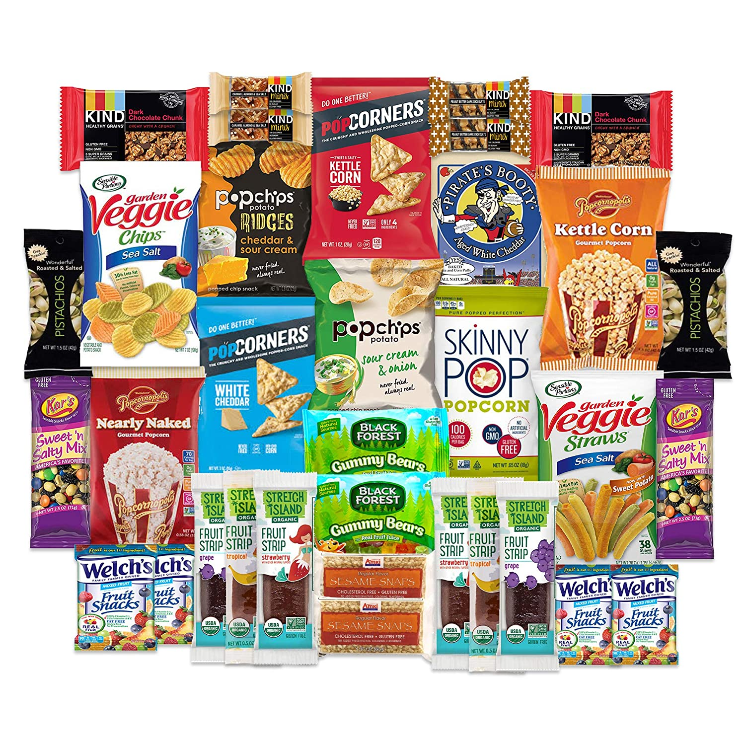 SnackBOX Gluten Free Healthy Snacks Care Package