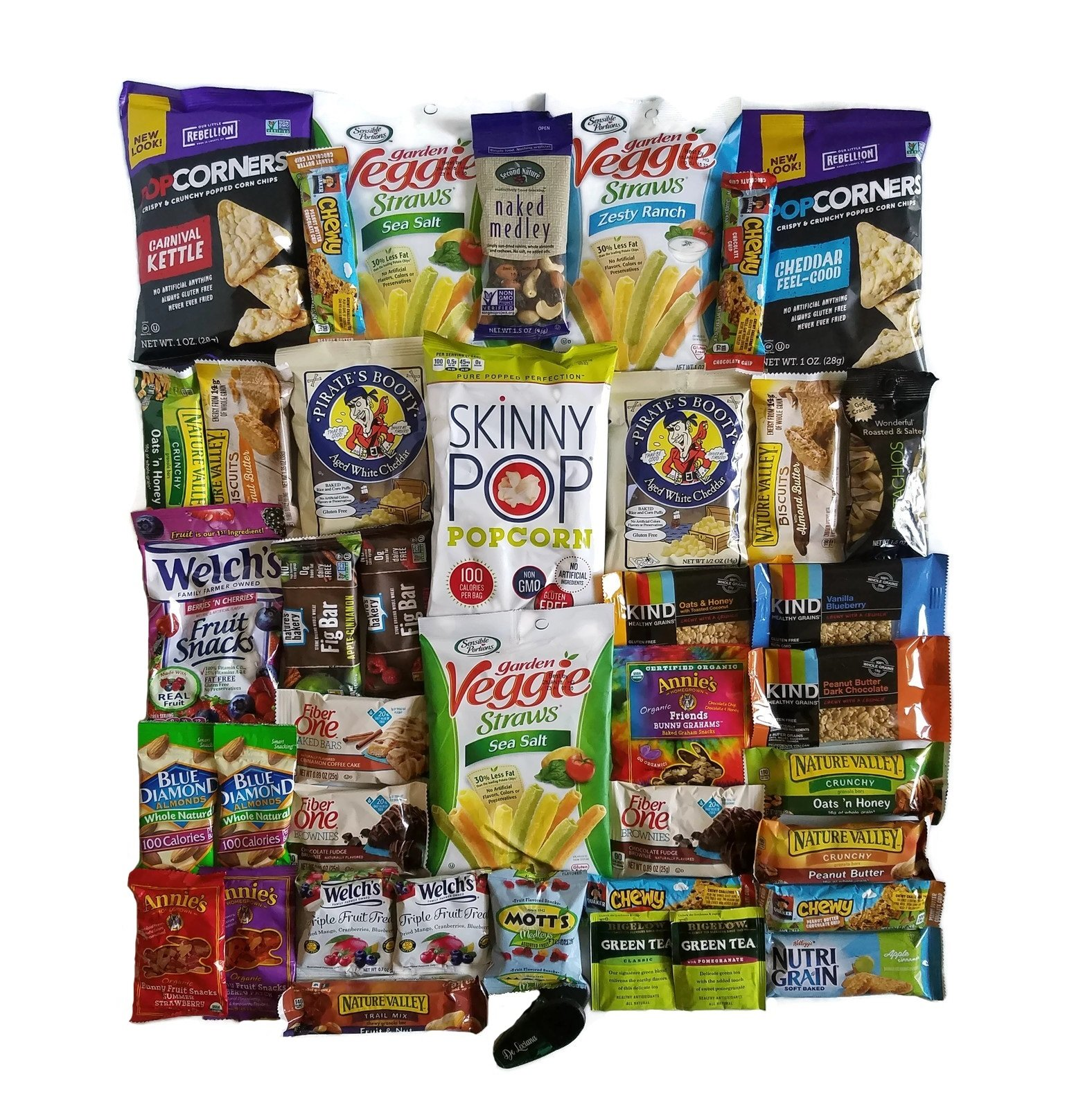 Healthy Snack Care Package (40 Count)
