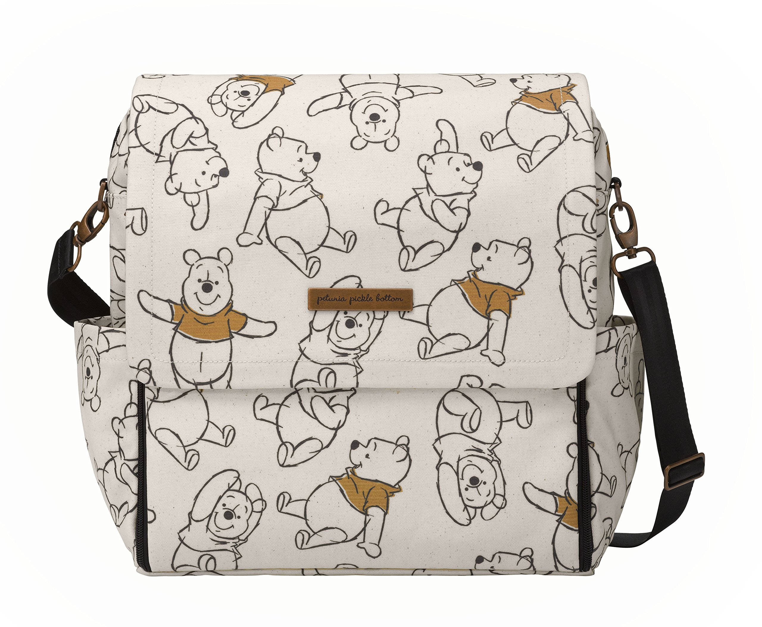 Petunia Pickle Bottom Boxy Backpack in Sketchbook, Winnie The Pooh and Friends