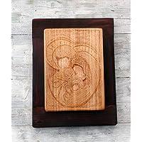 Dadò Icona icone It Sacra Famiglia scolpita su legno Arte Sacra sf5