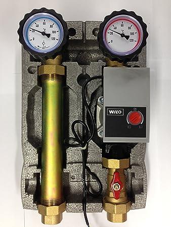 Hervorragend Wilo Pumpengruppe für Heizung Umwälzpumpe 25/60 Hocheffizienzpumpe  EE83