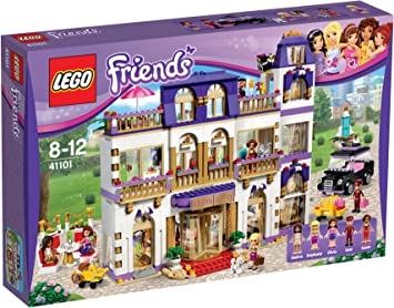 Lego 41101 Friends Heartlake Grand Hotel Amazon Co Uk Toys Games