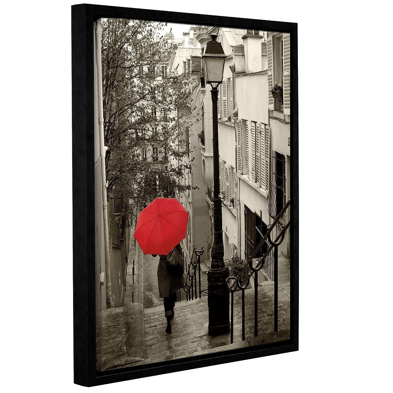24 x 32 ArtWall 2sch005a2432p Sue Schlabachs Paris Stroll 2 Removable Wall Art