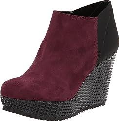 d3fcead286 Studio Pollini Women's Chunky Wedge Ankle Boot