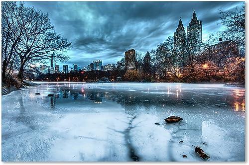 Frozen Central Park Lake II