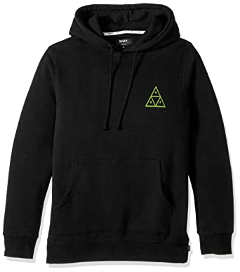 4bb301d54 Amazon.com: HUF Men's Triple Triangle Pullover Hood: Clothing