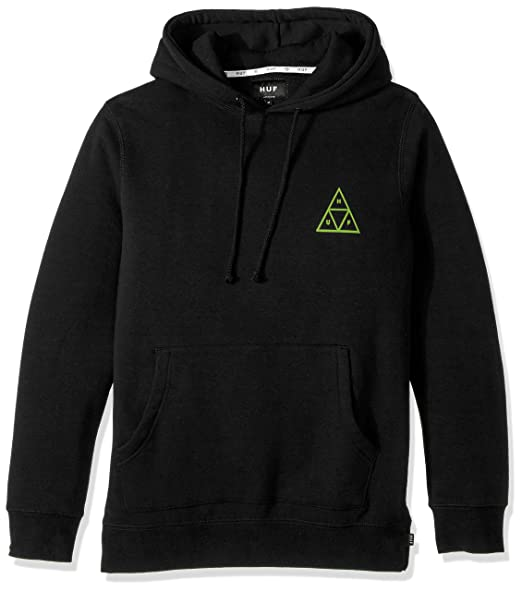 Top Design tolle Preise Luxus kaufen Amazon.com: HUF Men's Triple Triangle Pullover Hood: Clothing