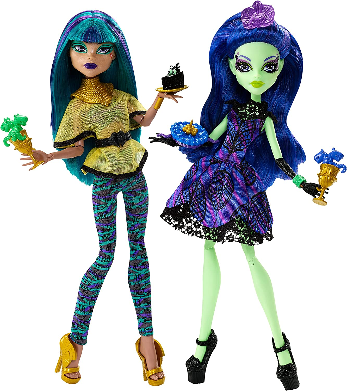 Amazon.es: Monster High Scream & Sugar Doll (2 Pack): Juguetes y ...