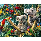 EOBROMD Diamond Painting Kit, 5D DIY Rhinestone Embroidery Cross Stitch Arts Craft Home Wall Decor - Koala 12x16inch