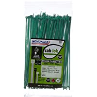 Novoflex CPSS 150 ES_100_GRN Cable Ties 150mm, Green, Pack of 100
