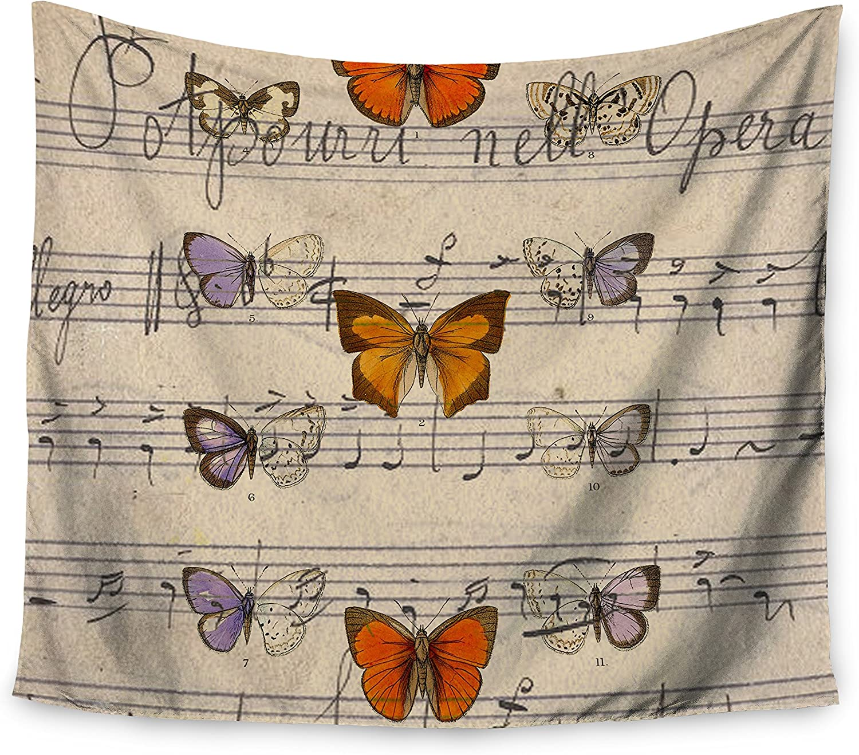 Kess InHouse Suzanne Carter Lovely Beige Digital Fleece Throw Blanket 60 X 50 60 by 50-Inch