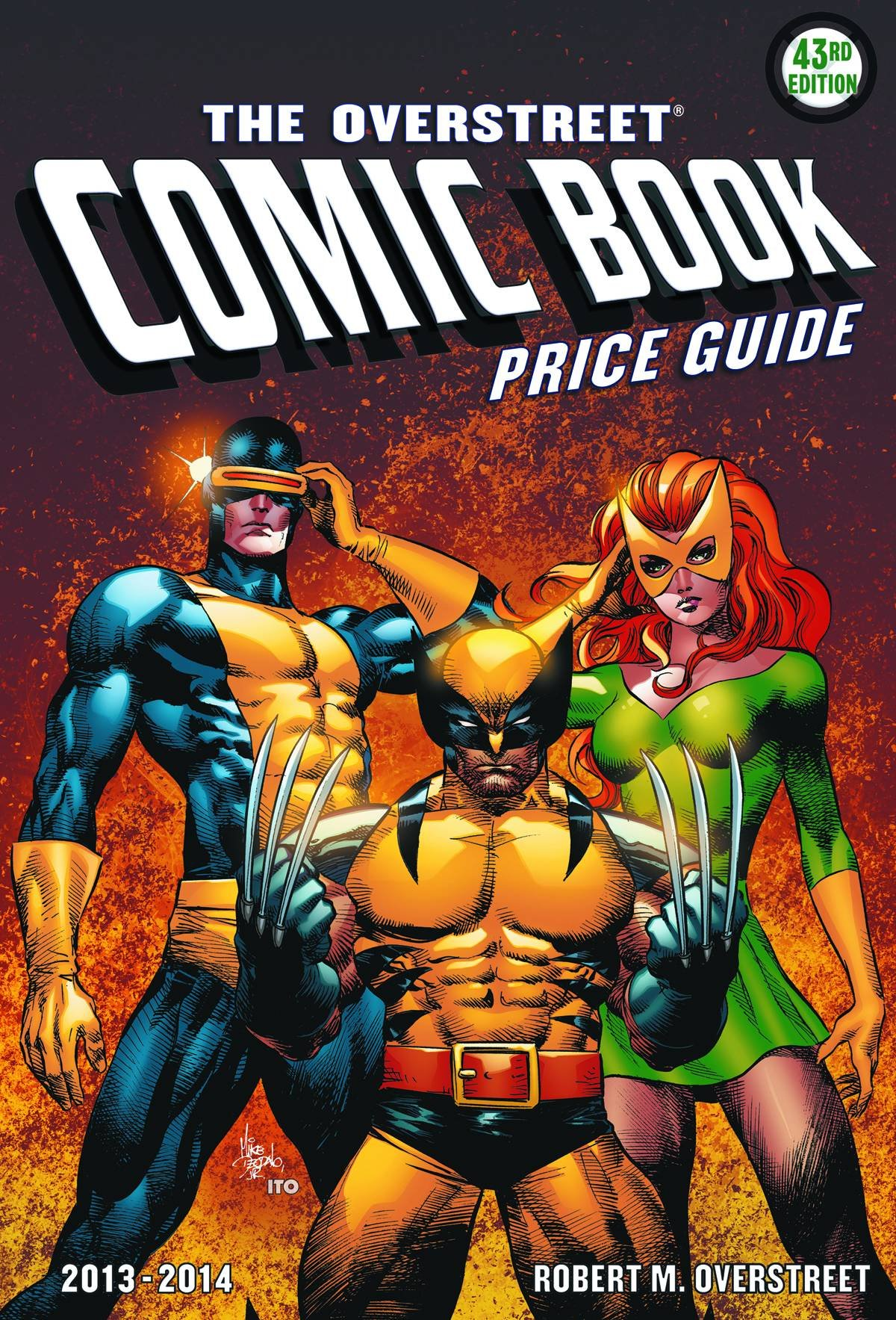 the overstreet comic book price guide vol 43 robert m overstreet rh amazon com Overstreet 43 Hero Overstreet Price Guide 2017