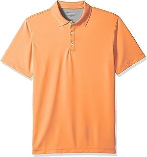 a2247d35c2e47 Van Heusen Men s Printed Short Sleeve Windowpane Polo Shirt at ...