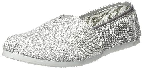 Beppi Espadrilles 2149212, Alpargatas para Mujer, Plateado (Silver), 37 EU: Amazon.es: Zapatos y complementos