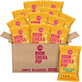 BOOMCHICKAPOP Angie's Cheddar Cheese Popcorn, 4.5 Ounce Bag (Pack of 12 Bags)