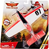 Thinkway Planes Fire and Rescue Dusty Glider, Red/White