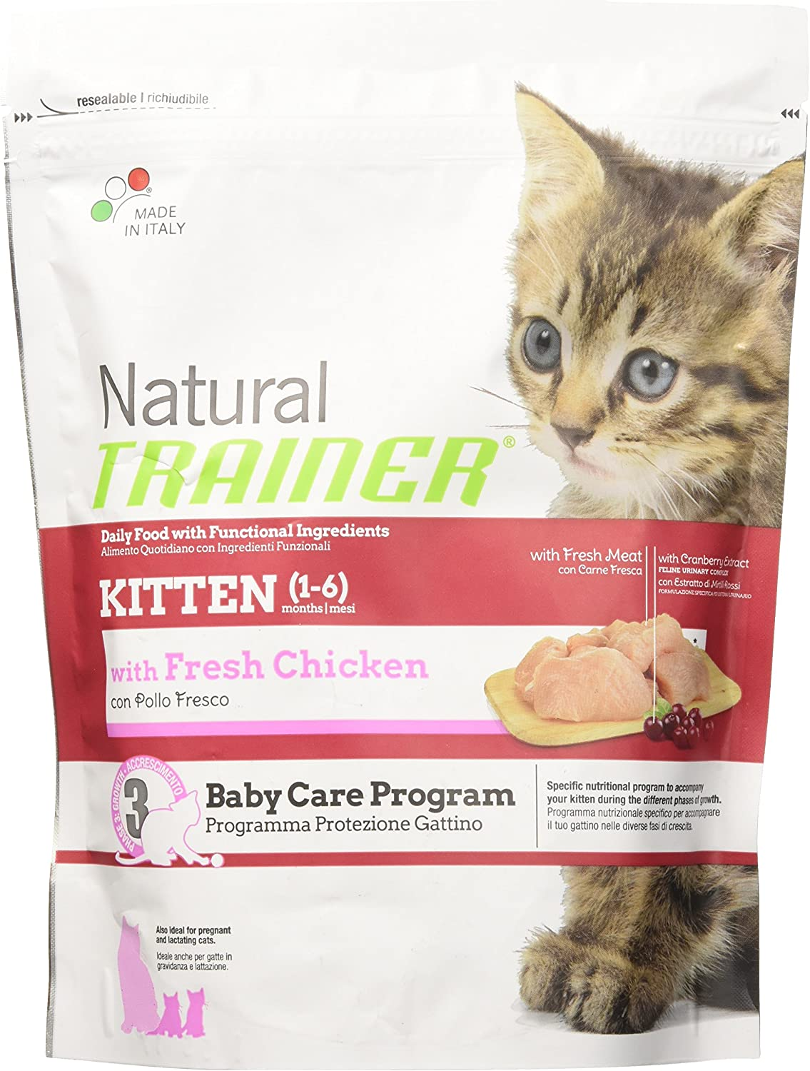 Natural Trainer -Alimento para Gatitos, de 300 g: Amazon.es: Productos para mascotas