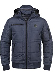 Stylisch Grau Winter! Navahoo Herren Winter Jacke Sportliche