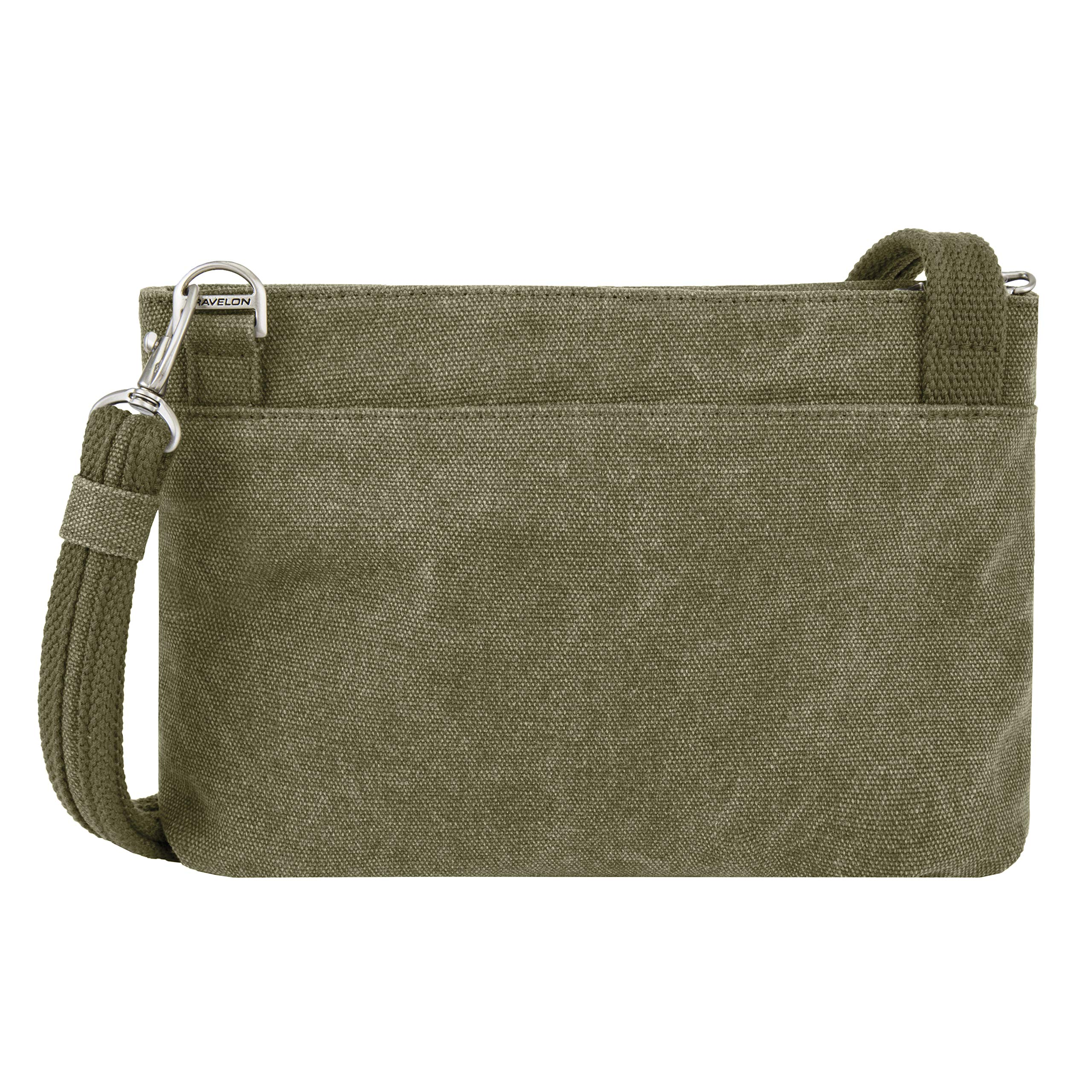 Travelon Anti-Theft Heritage Cross Body Bag, Sage, One Size by Travelon (Image #7)