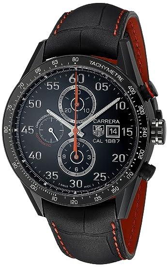 TAG Heuer Carrera - Reloj (Reloj de Pulsera, Masculino, Titanio, Negro,