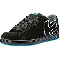 etnies Men's Kingpin Lifestyle Skate Shoes, Black/Grey/Blue