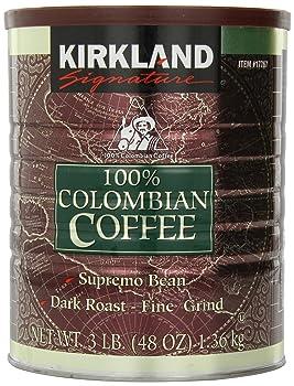 Kirkland Signature 100% Colombian Coffee