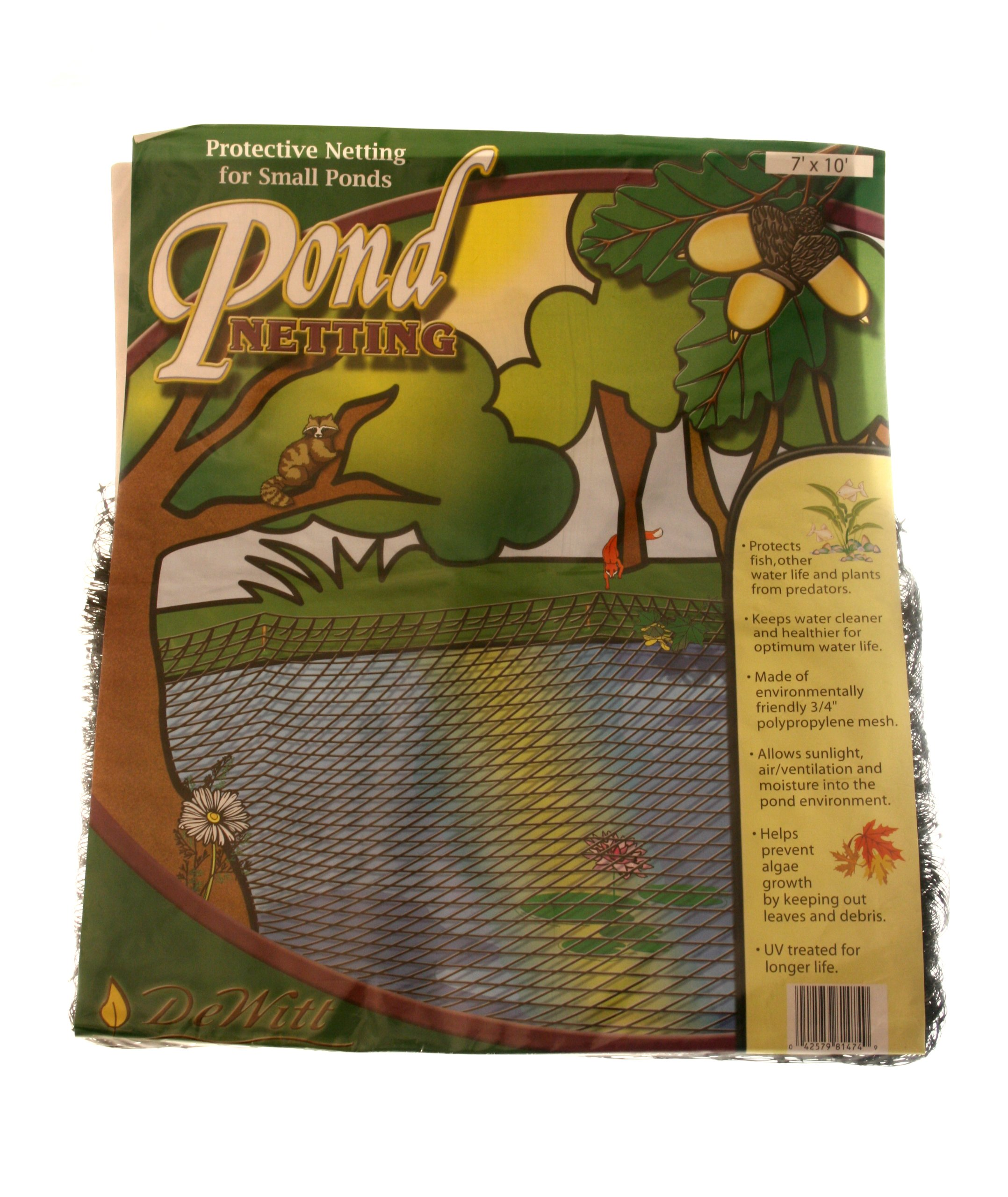 DeWitt Pond Netting, 7 by 10-Feet by DeWitt