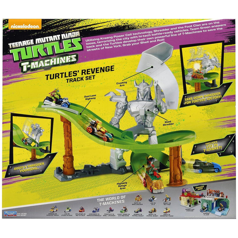 Teenage Mutant Ninja Turtles T-Machines Turtles Revenge ...