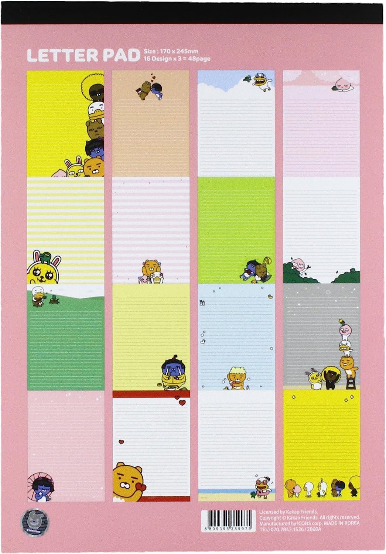Multicolor Nixeus Technologies Inc us beauty KAKAO FRIENDS NT 9999 Letter Pad