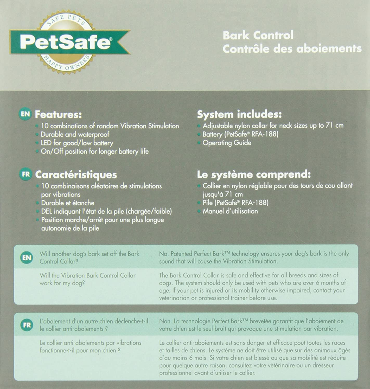 Petsafe Vbc 10 Vibration Bark Control Adjustable To 68 6 Cm Anti