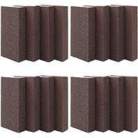 16 Pcs Sponge Sanding Block Wet Dry Sanding Sponges Coarse/Medium/Fine/Superfine 4 Different Specifications Sanding…