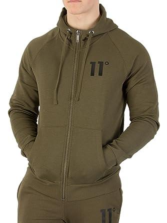 11 Degrees Men s Core Logo Zip Hoodie 4a24c4bfa9c1