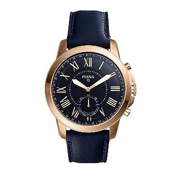 Amazon.com: Fossil Hybrid Smartwatch – Q otorgar azul marino ...